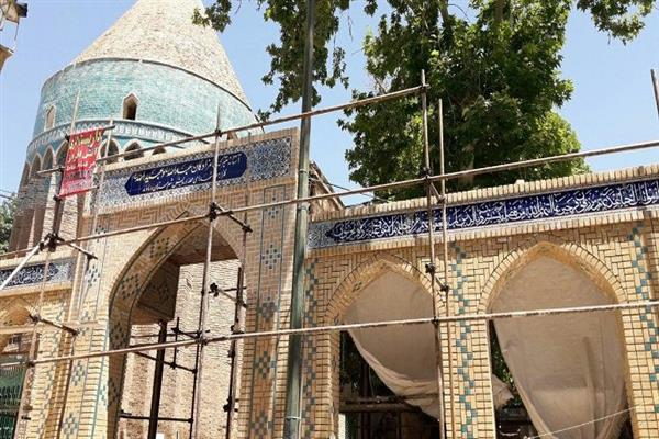 گلزار شهدای محله درویش شهر دماوند تا هفته دولت سال جاری تکمیل میشود