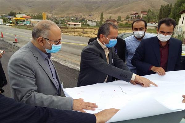بازدید نماینده مردم دماوند و فیروزکوه در مجلس از پروژه های شهرداری