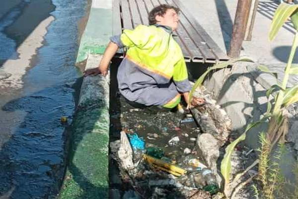 رهاسازی زباله در جوی معضلی که باید حل شود