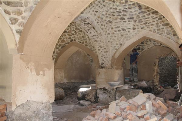 گذری بر حمام تاریخی محله درویش شهر دماوند که به موزه تبدیل می شود