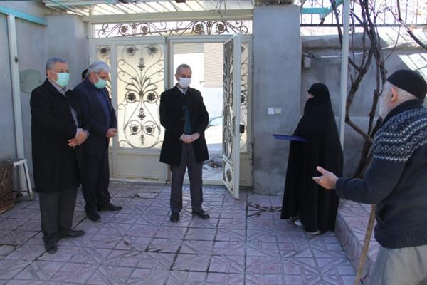تکریم و تجلیل از مادران و همسران شهید شهر دماوند