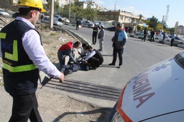 برگزاری دو مانور پدافندغیرعامل توسط عوامل مدیریت بحران و آتش نشانی شهرداری دماوند