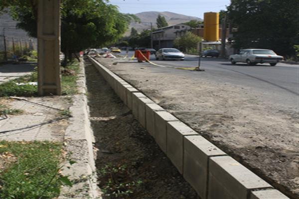 ادامه بهسازی و نوسازی انهار فرسوده شهر دماوند