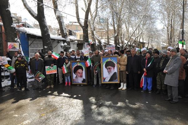 مردم دماوند در 22 بهمن برگ زرین دیگری به کتاب افتخارات افزودند+تصویر