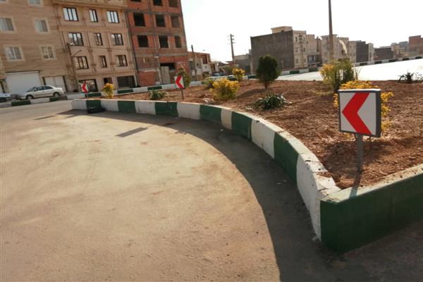 نصب و تعویض 500 تابلو راهنمایی و علائم ترافیکی در شهر دماوند